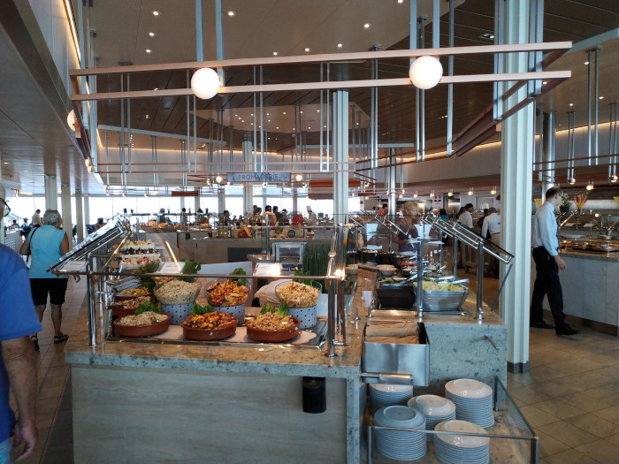 buffet celebrity edge
