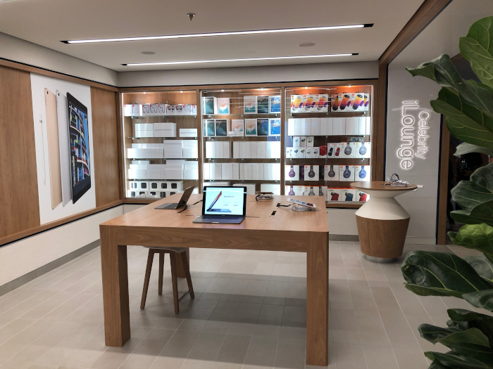 Este es Apple Space de Celebrity Edge, el Celebrity ILounge…