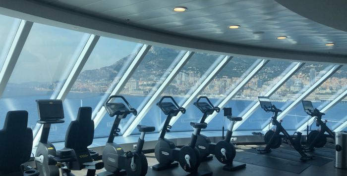 salle de fitness celebrity edge