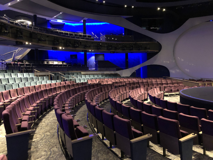 The Celebrity Edge Theatre