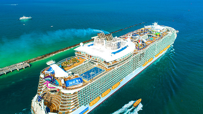 Un géant des mers : le Symphony of the Seas