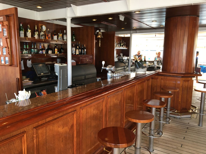 Le Tropical Bar du Royal Clipper